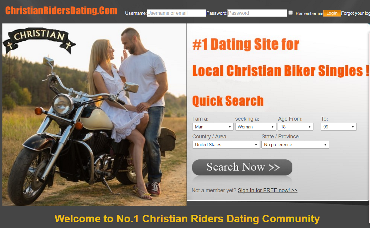 Christian bikers dating site