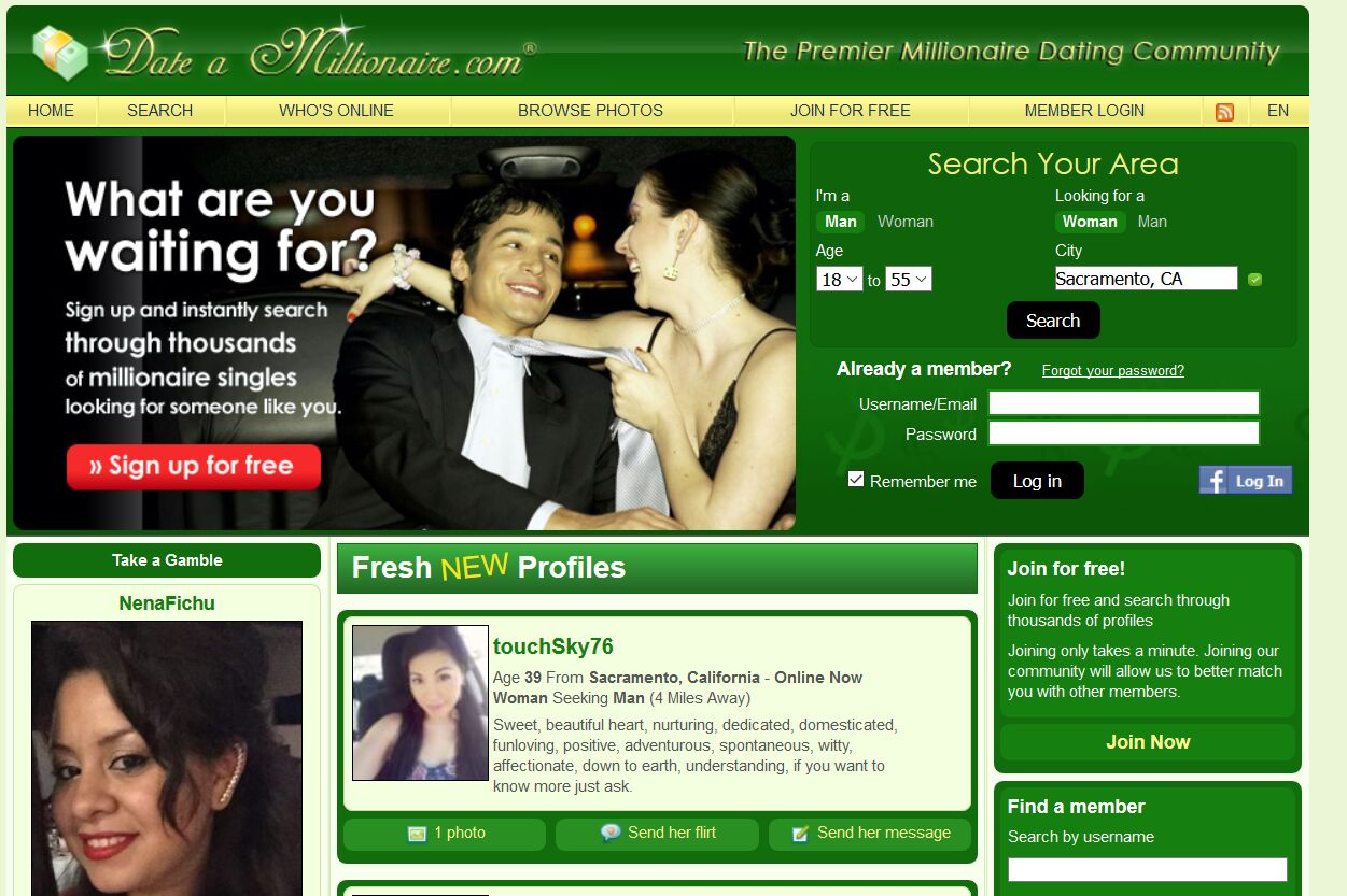 best dating sites for millionaires